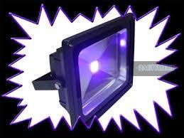 50 wattos UV LED reflektor