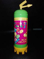 Eldobható hélium palack ajándék lufival